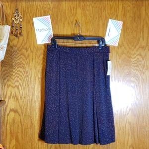 NEW LuLaRoe Polka-dot Madison Skirt with Pockets